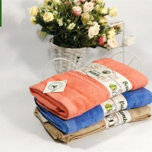 Bộ 3 khăn tắm cao cấp - Khăn tắm bông cỡ nhỏ