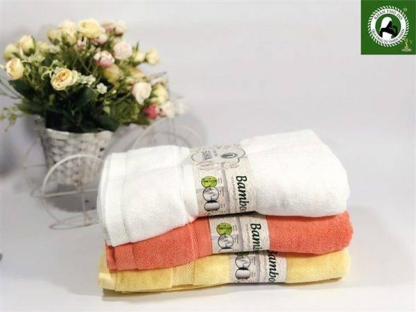 Bộ 3 khăn tắm cao cấp - Khăn tắm cỡ trung