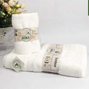 Bộ khăn tắm và khăn mặt Cotton 100%
