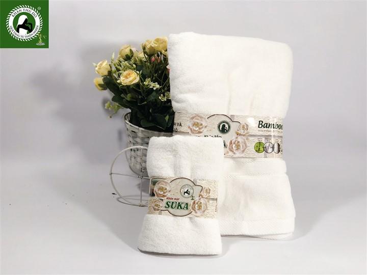 Bộ khăn tắm+ khăn mặt cao cấp