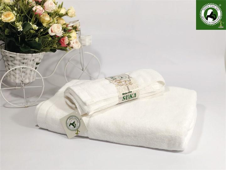 Bộ 2 khăn tắm quà tặng cao cấp