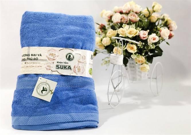Khăn tắm Suka sợi Cotton 100%