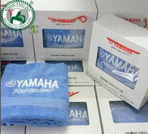 Khăn quà tặng thêu logo YAMAHA