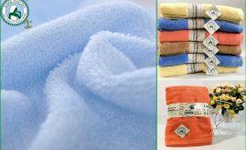 Khăn tắm sợi tre cao cấp thêu logo