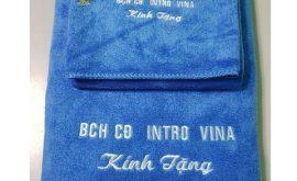 Bộ khăn thêu logo