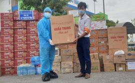 Hiệp hội sales Hải Dương trao tặng khẩu trang y tế