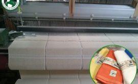 Máy dệt khăn sợi tre Suka