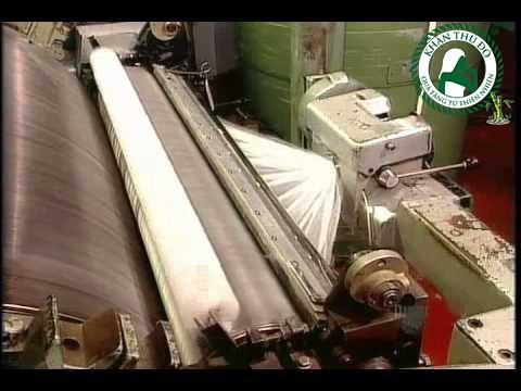 Máy kéo sợi cotton làm khăn