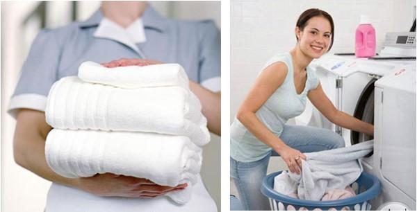 Cách khắc phục sự cố khăn tắm khách sạn