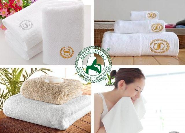 Khăn khách sạn cao cấp sợi cotton 100%