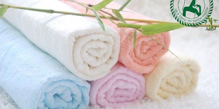 giá khăn tắm sợi tre