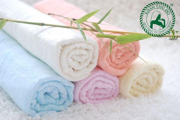 Khăn bông sợi tre có nhiều ưu điểm vượt trội so với các loại khăn thông thường