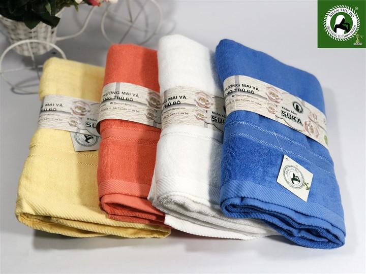 Khăn bông cao cấp - sản phẩm chất lượng được sản xuất tại Xưởng khăn Thủ Đô