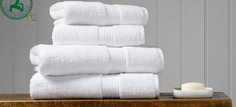 Xưởng khăn Thủ Đô chuyên sản xuất khăn tắm trắng theo yêu cầu