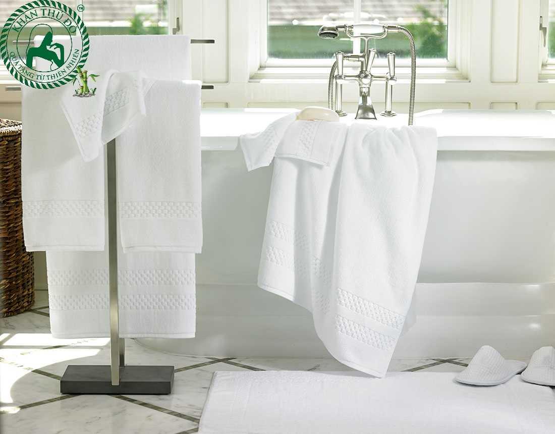 Đơn vị uy tín sẽ cung cấp các loại khăn tắm khách sạn cao cấp