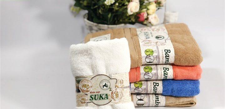 Khăn tắm sợi tre Suka