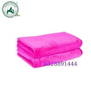 Khăn gội đầu Spa màu hồng